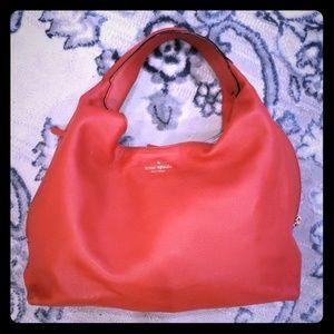 Red Kate spade hobo & dustbag